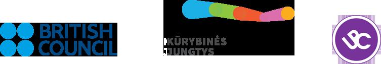British council Kurybines jungtys UPC logo juosta